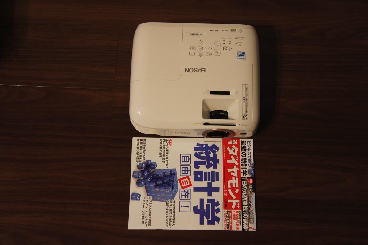 EH-TW5350本体サイズ