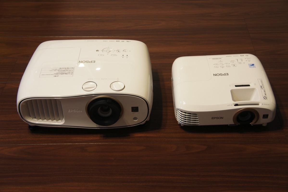 EH-TW6700とTW5350比較