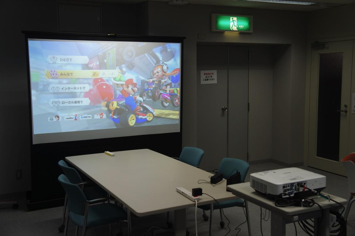 Nintendo Switchとプロジェクターを接続する方法