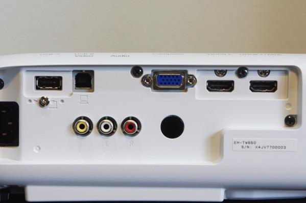EH-TW650接続端子