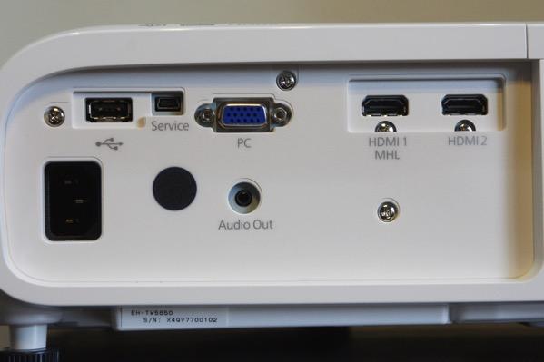 EH-TW5650 接続端子
