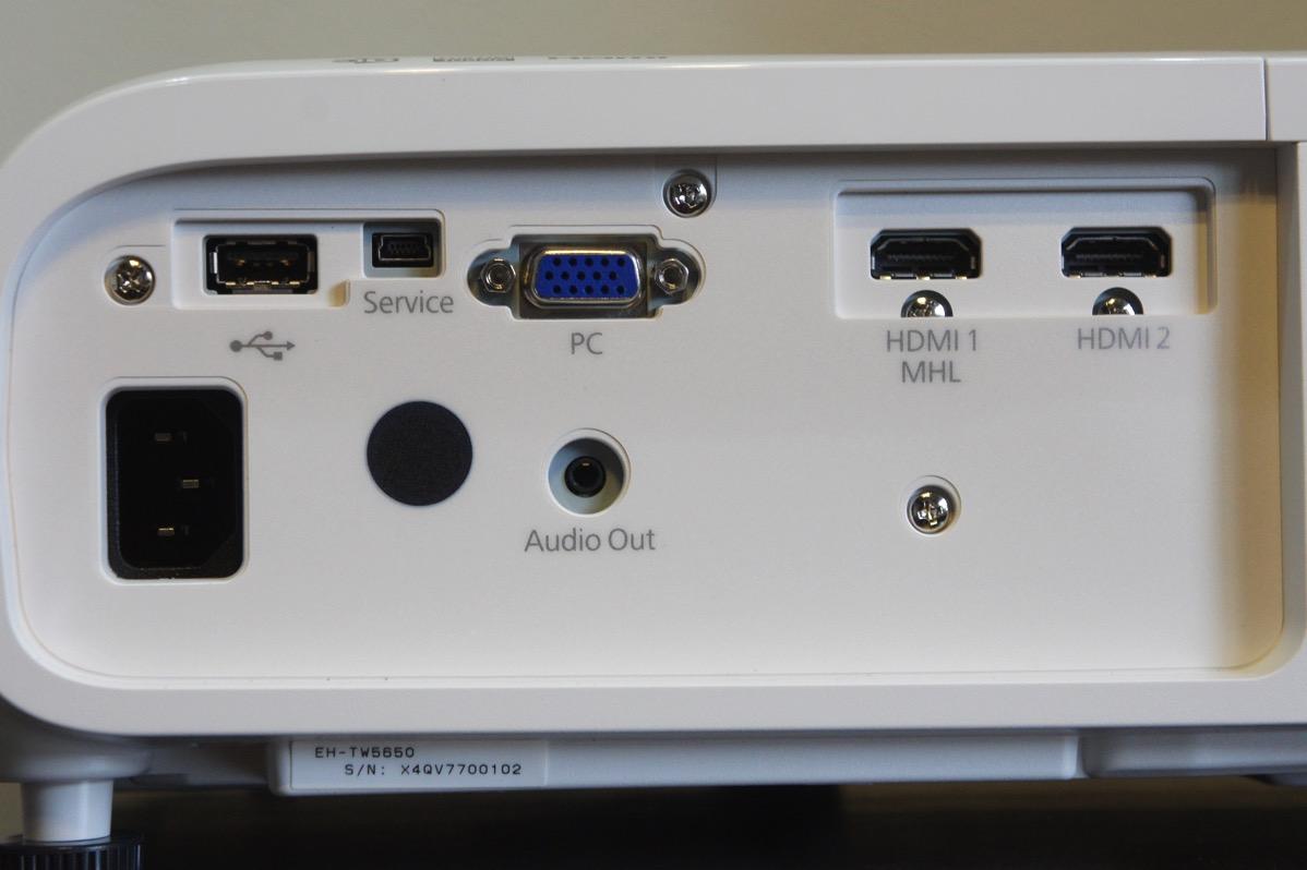 EH-TW5650接続端子